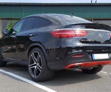 Detailfolierung eines MB GLE Coupe AMG